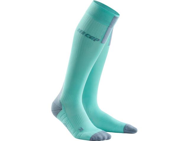 cep Run Socks 3.0 Donna, turchese/grigio